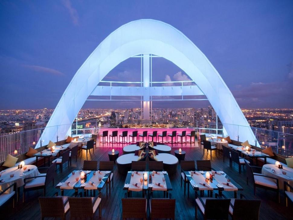 泰国曼谷最值得去的5家高空酒吧
