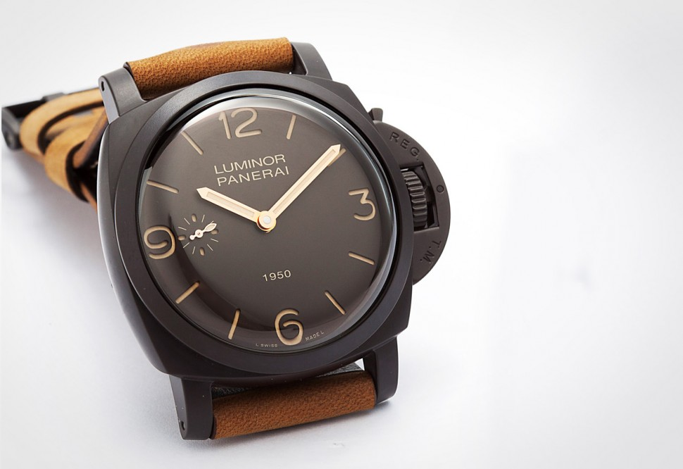 進擊的陶瓷殼 PANERAI Luminor 1950 PAM00375