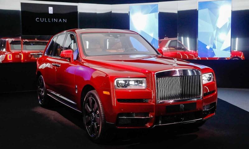 勞斯萊斯高手之作 Rolls-Royce Cullinan台灣第一貴休旅正式上市