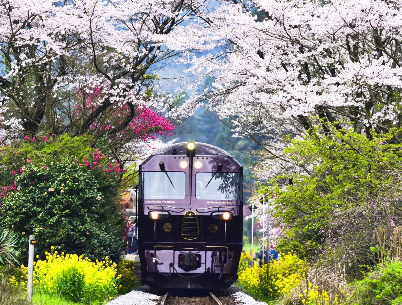列車 九州 豪華